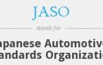 Классификация автомасел по японским стандартам JASO