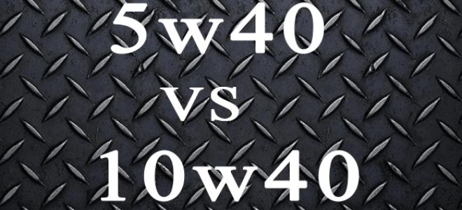 Отличия синтетики 5w40 от полусинтетики 10w40