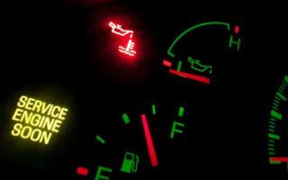 Что делать водителю, если пропало давление масла?